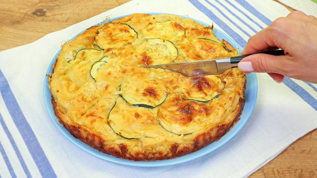 Metti le zucchine nell'impasto e inforna per un risultato perfetto. Ha solo 210 Kcal!