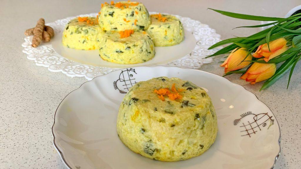 Tortini di zucchine con poche calorie, facili e veloci da fare. Solo 150 Kcal!
