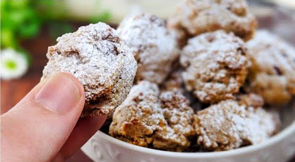 Biscotti alle noci senza glutine, li avete mai provati così buoni? Solo 55 Kcal!