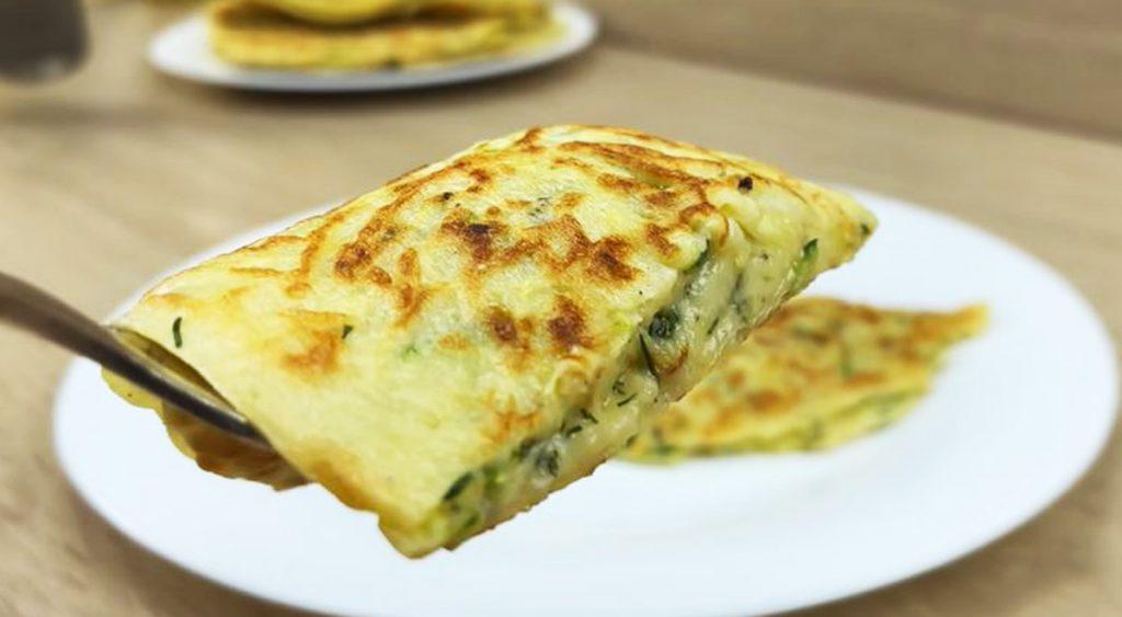 Crepes? Si, ma di zucchine, aggiungetele nell'impasto e cuocete in padella. Solo 115 a crepes!