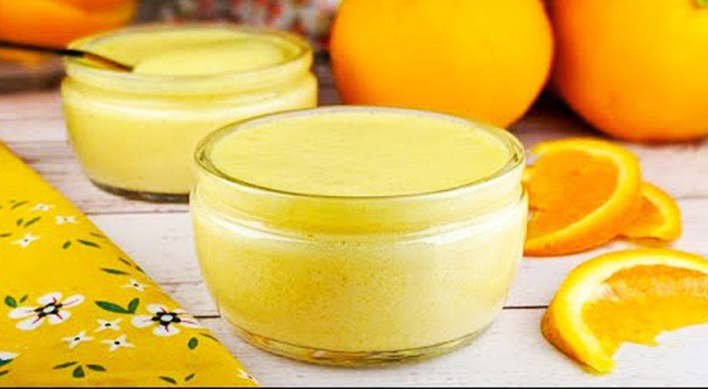 Il dolce al cucchiaio all'arancia, 2 ingredienti e con pochissime calorie. Solo 170 Kcal!