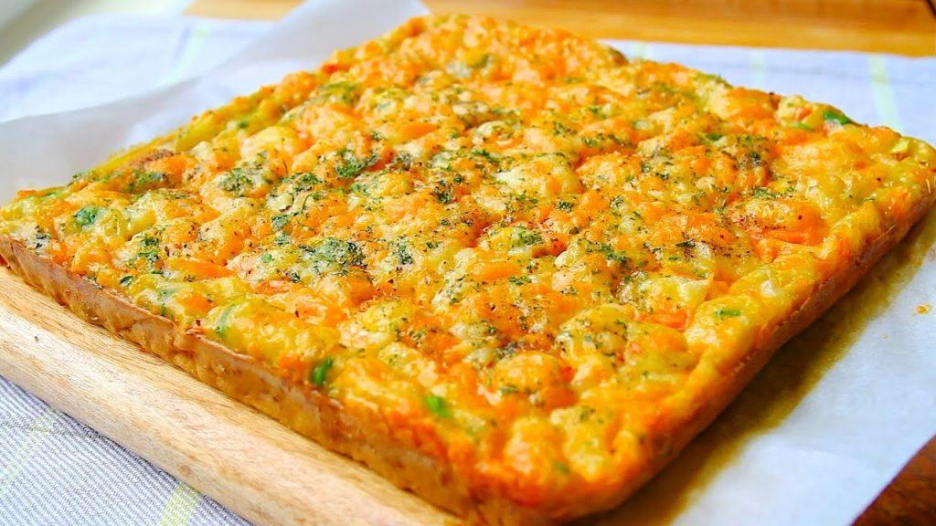 La frittata al forno, piena di verdure e senza olio, ottima per la cena. Solo 120 Kcal!