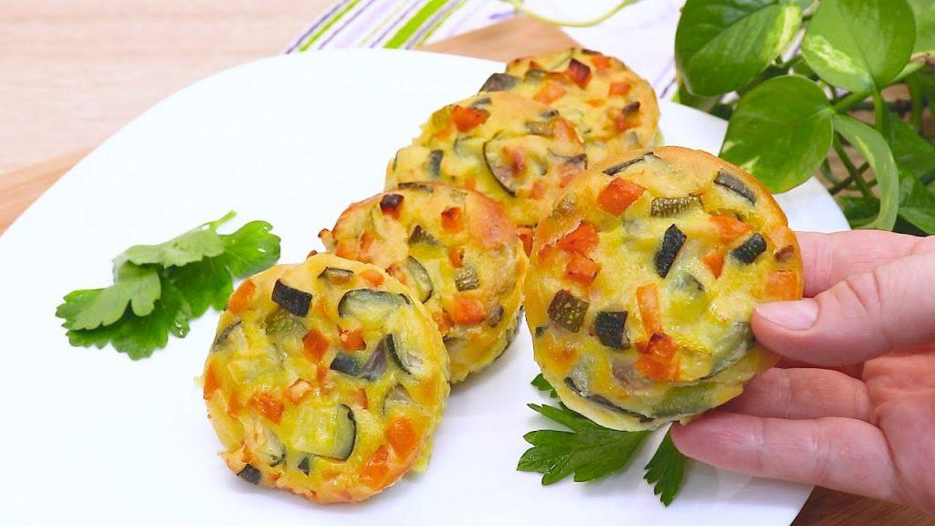 Pirottini salati di verdure, niente carne. Non li avete mai assaggiati così, solo 85 Kcal!