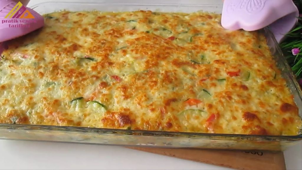 Lo sformato di verdure, un modo sfizioso di mangiare le verdure. Solo 130 Kcal!