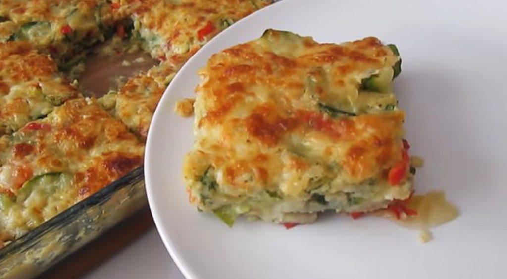 Il pasticcio di zucchine e verdure, mangiatelo spesso se volete perdere peso. Solo 140 Kcal!