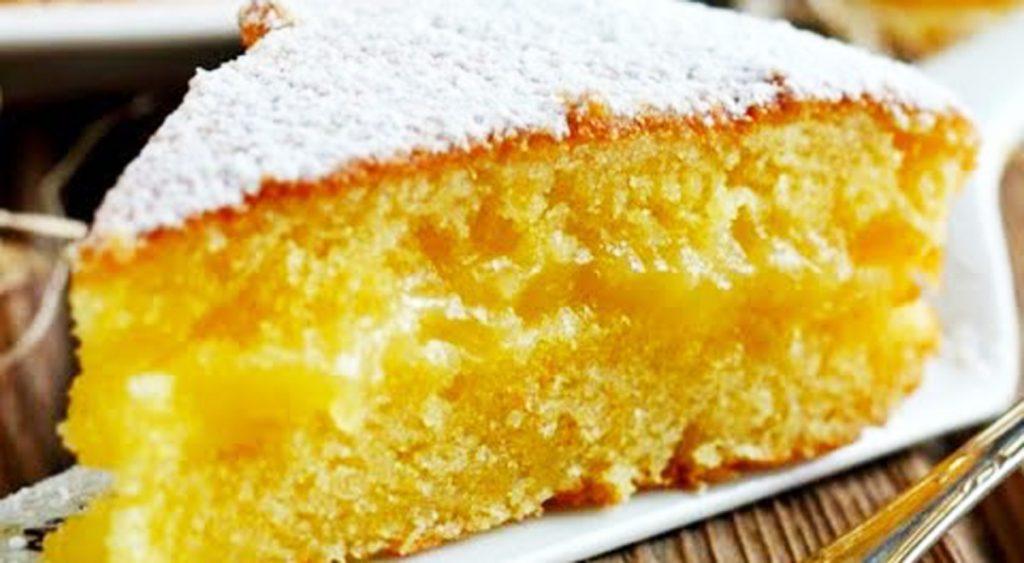 La torta cremosa all'arancia, così buona non l'avete mai mangiata. Solo 160 Kcal!