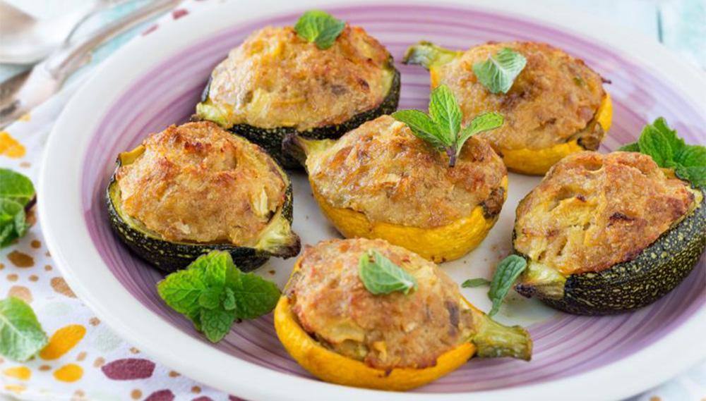 Le zucchine ripiene al forno SENZA CARNE, le avete mai provate così? Solo 110 Kcal!