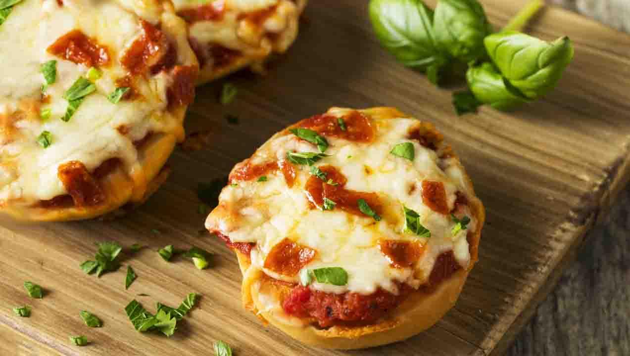 Mini pizze di zucca