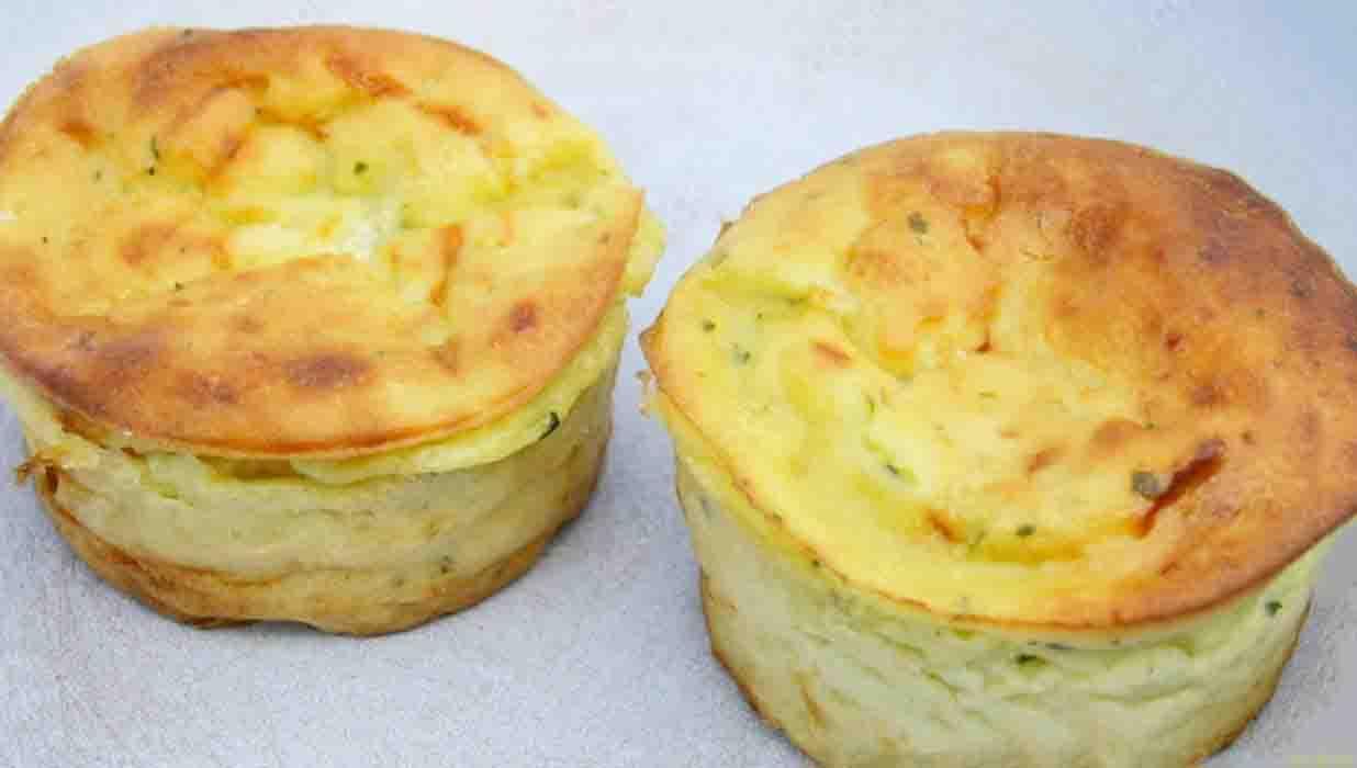Muffin di zucchine e patate