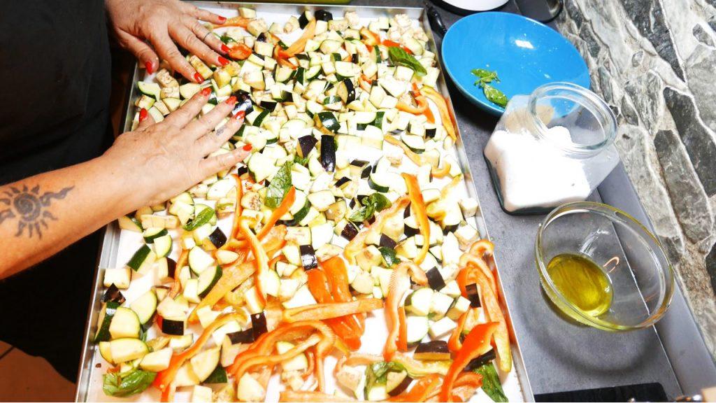 Le verdure al forno dietetiche, perfette per fare muffin, polpette e torte salate. Solo 80 Kcal!