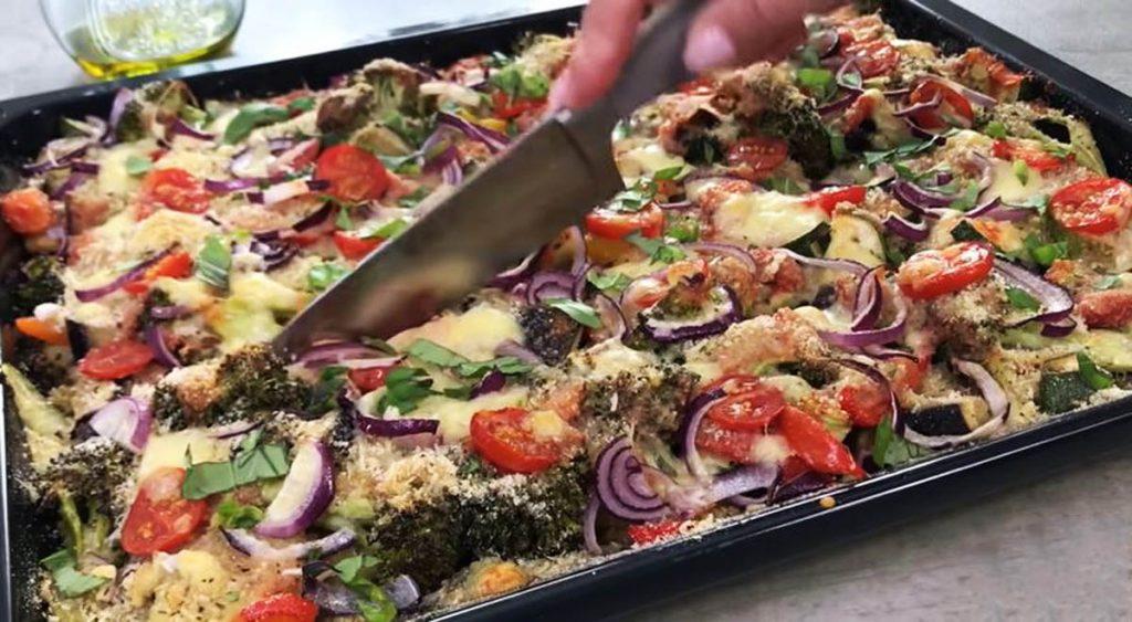 Le verdure gratinate al forno, le avete mai provate così? Hanno solo 180 Kcal!