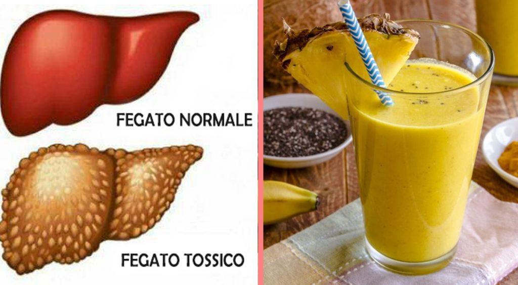Bevanda alla banana e curcuma: disintossica il fegato e reni, abbassa colesterolo e glicemia