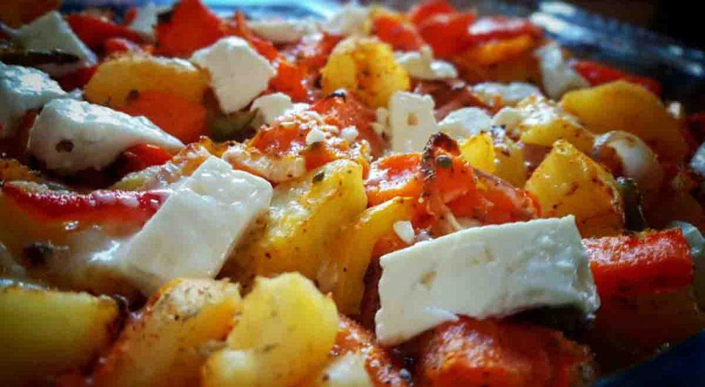 Un contorno di verdure SENZA BILANCIA e dietetico, perfetto a cena. Solo 160 Kcal!