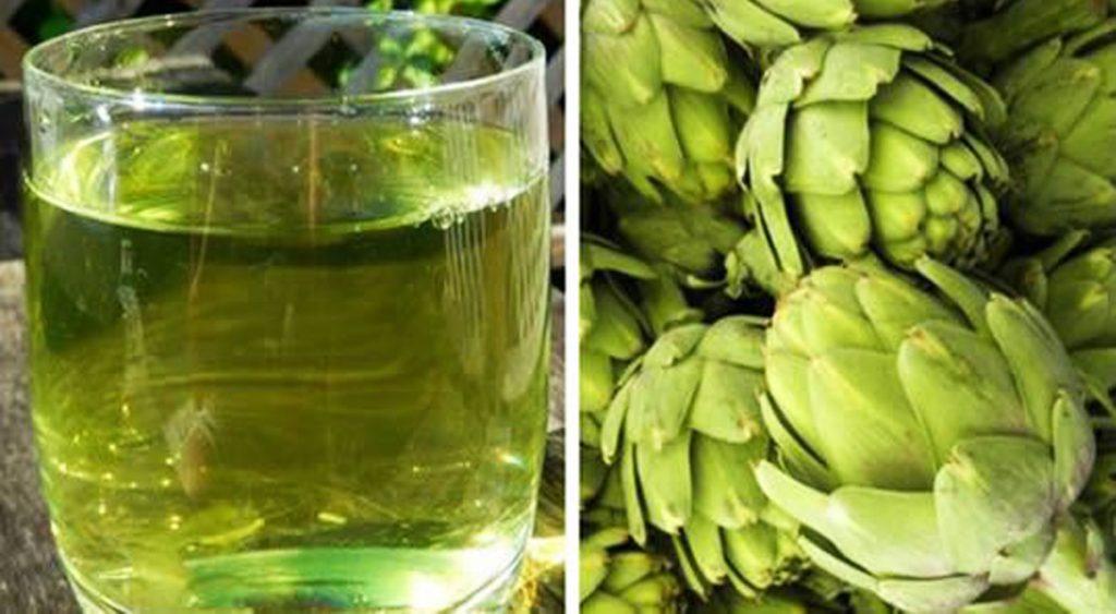 Acqua di carciofo: brucia il grasso, abbassa il colesterolo e disintossica il fegato