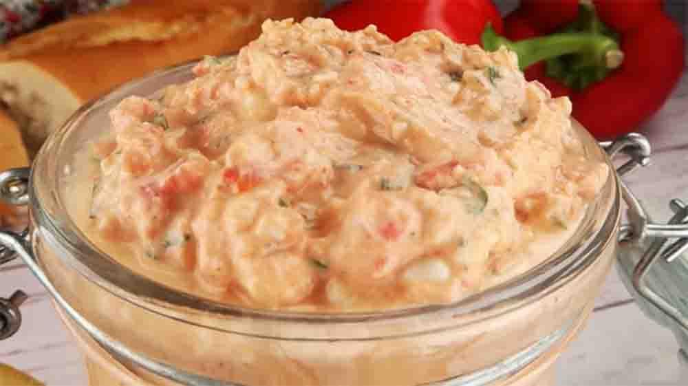 La crema di peperoni rossi, perfetta per crostini, pasta e insalate. Solo 85 Kcal!