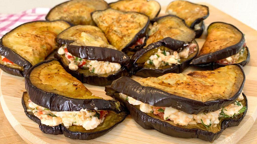 Melanzane al forno, farcite così sono buonissime e anche dietetiche. Solo 65 Kcal!