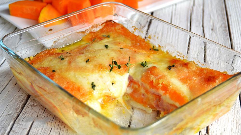 Parmigiana di zucca, per una cena deliziosa, veloce e con poche calorie. Solo 250 Kcal!
