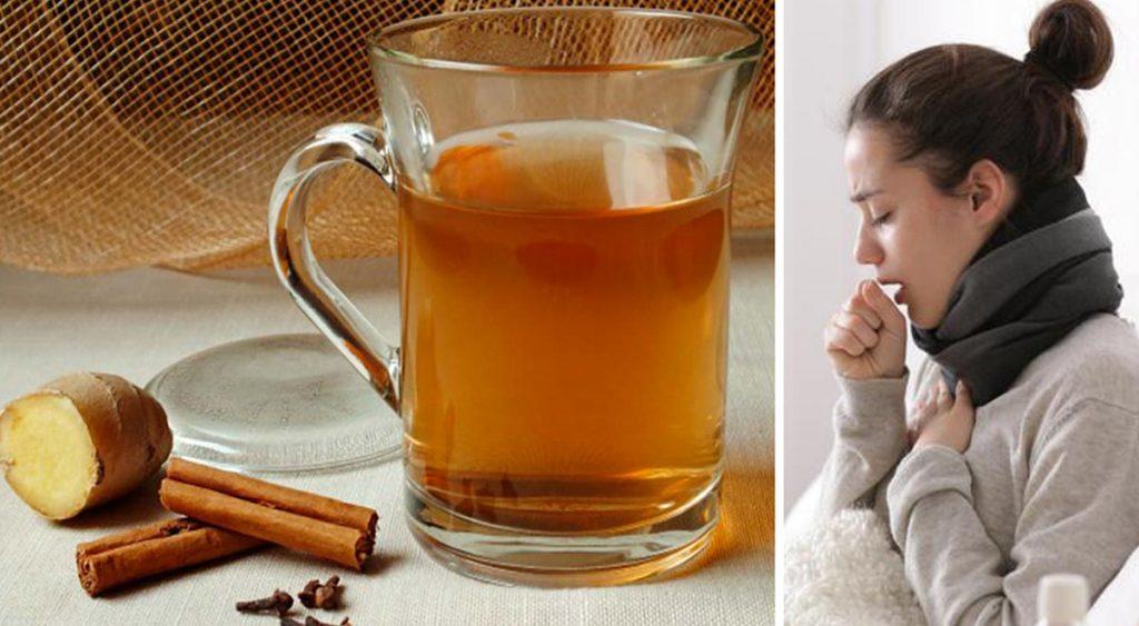 Cannella, zenzero e miele: calma la tosse, disinfetta la gola e riduce l'infiammazione